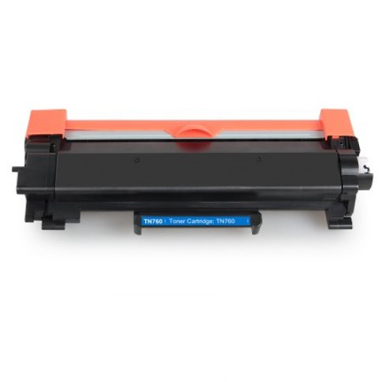 Compatible Brother black laser toner TN760 high yield