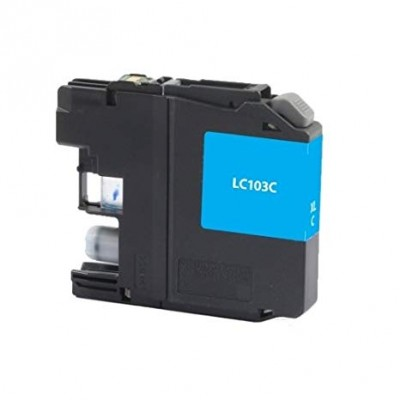 Brother compatible inkjet cartridge LC103C Cyan high yield