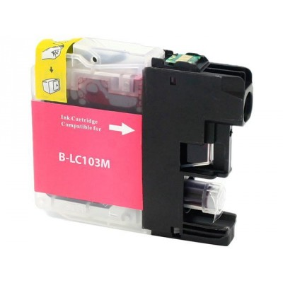 Brother compatible inkjet cartridge LC103M Magenta high yield