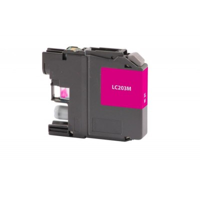 Brother compatible inkjet cartridge LC203M Magenta high yield