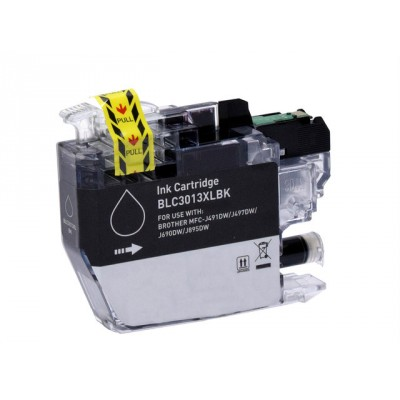 Brother compatible inkjet cartridge LC3013BK black high yield