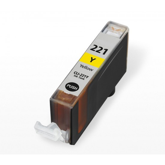 Canon compatible inkjet cartridge CLI-221 yellow 2949B001