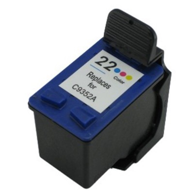 HP compatible inkjet cartridge HP 22 color C9352A