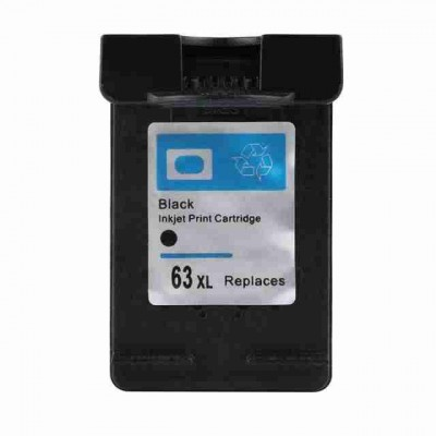 HP compatible inkjet cartridge HP 63XL black
