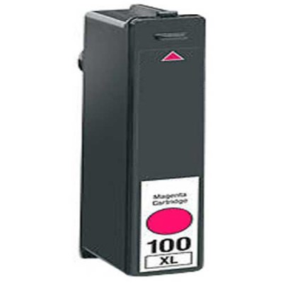 Lexmark compatible inkjet cartridge 100XL magenta