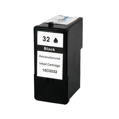 Lexmark compatible inkjet cartridge 32 black 18C0032