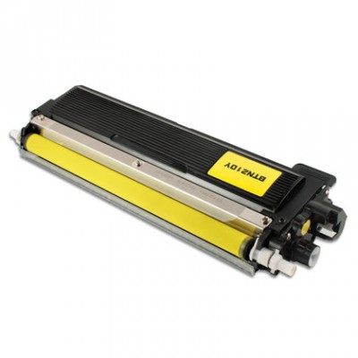 Cartouche laser Brother TN210 Jaune compatible