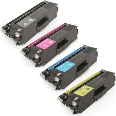 Kit Compatible Brother  toner TN315 Black and CMY
