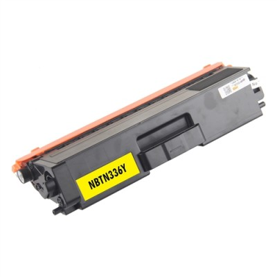 Compatible Brother laser toner TN336 Yellow