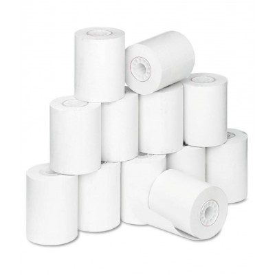 Thermal paper rolls for pos terminal 2 1/4 X 30 feet